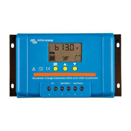 regulador con LCD y USB